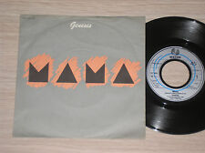 "GENESIS - MAMA / IT'S GONNA GET BETTER - 45 GIRI 7"" GERMANY"