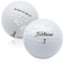24 Titleist Pro V1x 332 AAA (3A) Used Golf Balls - FREE Shipping