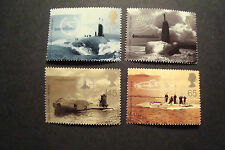 GB 2001  Commemorative Stamps~Submarines~Very Fine Used Set~(ex fdc)~UK Seller