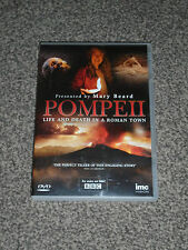 POMPEII : LIFE & DEATH IN A ROMAN TOWN - BBC DVD IN VGC (FREE UK P&P)