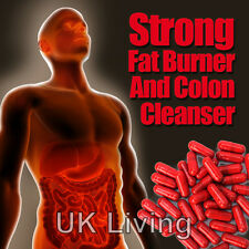 RASPBERRY KETONE  COLON CLEANSER FAT BURNERS SLIM WEIGHTLOSS DIET SLIMMING PILLS