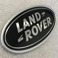 NEW LAND ROVER RANGE ROVER SPORT~VOGUE Rear Oval Boot Badge Emblem Black Silver