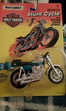 New Matchbox Green Harley Davidson Stunt cycle FXR Lo rider