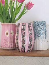 Magnifique petite vintage rose floral vase floral ~ accessoires décoratifs
