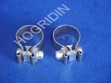 Harley Davidson exhaust system muffler clamps touring softail dyna xl fatboy flt