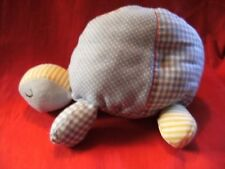 mamas and papas  rattly tortoise soft toy 10""