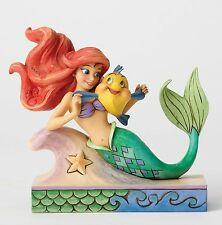 Disney Traditions Fun with Friends Ariel & Flounder Figure NEW in Gift Box - 274