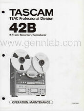 TASCAM 42B Operation /  Service Manual PDF file download