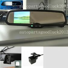 "Auto dimming mirror+3.5""LCD+camera,fit Ford Toyota Nissan Honda Kia Honda Chevy"