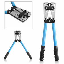 6-50mm² Electrician Cable Wire Crimping Hand Tool Pliers Ratchet Lightweight