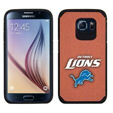 For Samsung Galaxy S6 ONLY Detroit Lions 2 Piece Pebble Grain Feel Case NFL