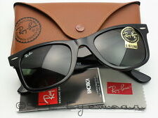 Ray Ban Original Wayfarer Sunglasses RB2140 901 Black Green Classic G-15 47 mm