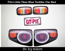 Replacement Decals Stickers fits Little Tikes Tykes Toddler Car Bed Pink Coupe