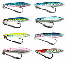 gypsy lures saltwater butterfly flutter jig assortment kit 8 jigs 80g 3oz