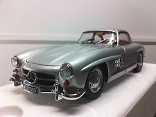 Minichamps 1/18 Mercedes Benz 300 Sl Gullwing (W198) 1955 Silver Art. 180039000