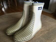 Vintage Douglas Gill Waterproof Competition Sailing Boots Mens 6, Women's 8