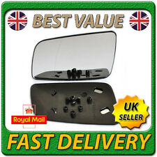 Left Passenger Side Wing Door Mirror Glass for VAUXHALL ASTRA G mk4 1998-2005