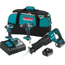BRAND NEW Makita 18-Volt LXT Lithium-Ion Cordless Combo Kit (3-Tool)