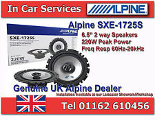 "Alpine SXE-1725S 6-1/2""(16cm DIN) Custom Fit Coaxial 2-Way Car Speakers 220WPAIR"