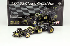 SUNSTAR QUARTZO 1:18 LOTUS 72E #2 RONNIE PETERSON 1973 ITALIAN GRAND PRIX WINNER