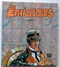 HUGO PRATT . CORTO MALTÈSE . LES ÉTHIOPIQUES . EO COULEURS GRAND FORMAT . 1980 .