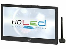 """Trevi Portable 10.1"""" LCD Television with Freeview 12v/230v use FREE DELIVERY"""