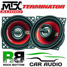 "MTX TR404 - 4"" 10cm 2 way 160 Watts Car & Van Audio Coaxial Speakers & Grilles"