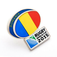 Rugby World Cup 2015 Romania Flag Pin
