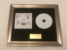 PERSONALLY SIGNED/AUTOGRAPHED WEEZER - WEEZER FRAMED CD
