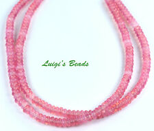 100 Milky Pink Czech Glass Rondelle Rondell Spacer Beads 4mm