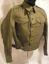 Original British Denim Battledress Tunic, size 9, excellent condition