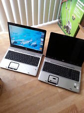 Hewlett Packard DV9000 Lap Top Computer Lot Of Two For Parts Or Repair.