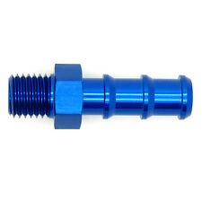 M10x1.0 METRIC to 7mm 8mm BARB PUSH HOSE TAIL Straight Oil Fuel Pump Adapter