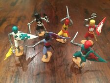Timpo Medieval Foot Knights - Complete Set - 1970's - Toy Soldiers