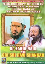 DR.ZAKIR NAIK WITH SRI SRI RAVI SHANKAR -THE CONCEPT OF GOD -ENGLISH DEBATES DVD