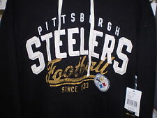 NFL CLASSIC GRIDIRON STEELERS HOODED PULLOVER HOODY HOODIE 5XL  NEW NWT