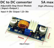 DC-DC 4-38V to 3.3V 6V 9V 12V 24V 5A Buck Module Step-down Voltage Regulator