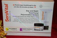SEROVITAL DAY AND NIGHT TOTAL FACIAL REJUVENATION SYSTEM AUTHENTIC SEALED BOX