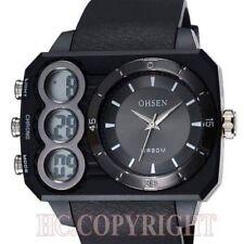 Reloj de pulsera Clásico Hombres Ohsen Impermeable Deportivo Analógico & Digital LED.