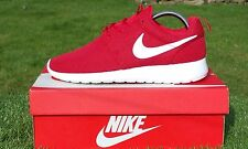 "BNWB & Genuine Nike Roshe One Gym Red White Trainers ""Left Size 8 Right Size 9"""