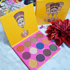 ORIGINAL NUBIAN 2 by JUVIA'S PLACE Eyeshadow 12 Colors YELLOW BOX 24 HRS