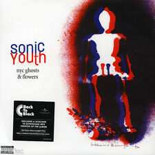 SONIC YOUTH - NYC GHOSTS & FLOWERS, 2016 EU 180G vinyl LP + MP3, NEW - SEALED!