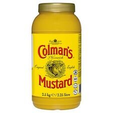 Catering Size Colmans English Mustard 2.25L Bulk Buy Delivered Worldwide from UK