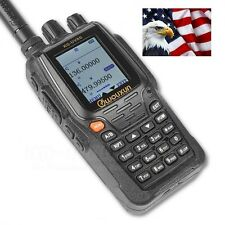 US Wouxun KG-UVD8 PLUS Two Way Radio (VHF 136-174)(UHF 420-520)2000mAh + Handset