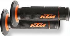 NEW OEM KTM GRIPS 7/8 WITH OPEN ENDS FOR HAND GUARDS MXC XC-F XC-W 250 300 450