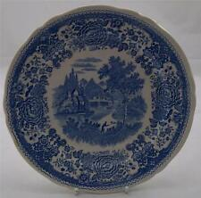 Villeroy & and Boch BURGENLAND BLUE - salad / dessert plate 21cm green backstamp