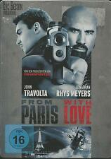 From Paris With Love / John Travolta / STEELBOOK / DVD #3754
