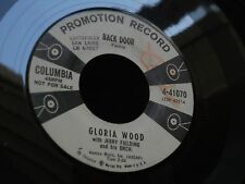 1SR COLUMBIA 4-41070 GLORIA WOOD JERRY FIELDING MR SORROW BACK DOOR JAZZ POP