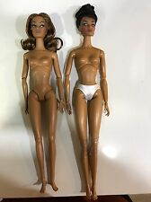 Fashion Royalty Monogram Poppy Parker Envied Darla Hit Single Nude TWO dolls