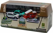 Greenlight US Forest Service Police Campsite Cruisers Multi Car Diorama 58031
